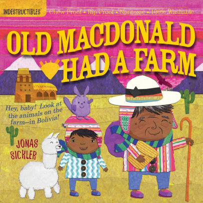 Indestructibles Book - Old MacDonald Had a Farm