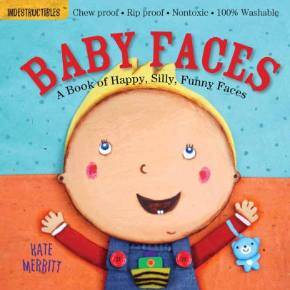 Indestructibles Book - Baby Faces
