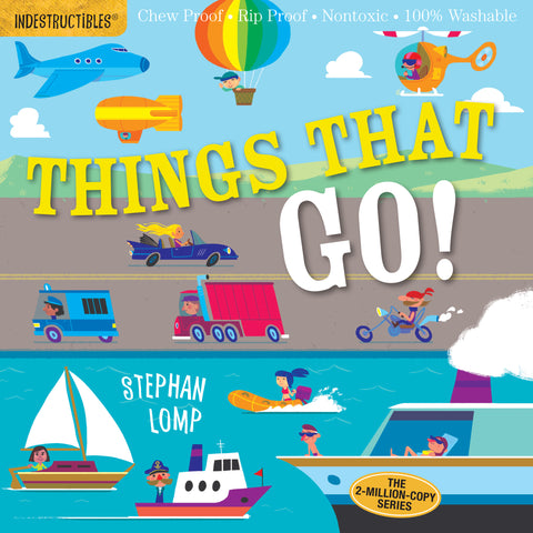 Indestructibles Book - Things That Go