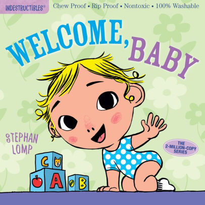 Indestructibles Book - Welcome Baby