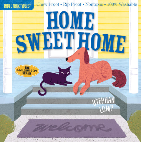 Indestructibles Book - Home Sweet Home