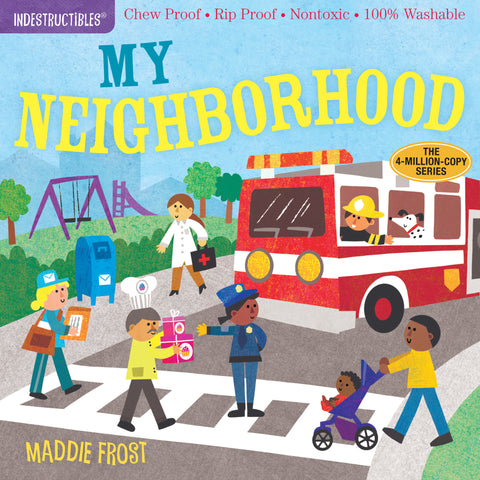 Indestructibles Book - My Neighborhood