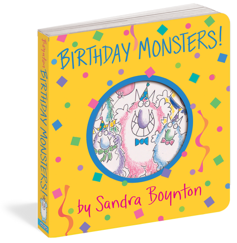 Boynton Books: Birthday Monsters!