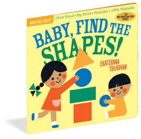 Indestructibles Book - Baby, Find the Shapes!