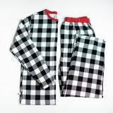 Little Sleepies Men's Holiday Pajama Set in Buffalo Plaid