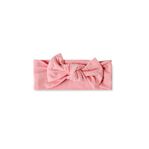 Little Sleepies Bow Headband - Bubblegum