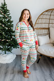 Little Sleepies Women's Bamboo Viscose Pajama Set - Fair Isle