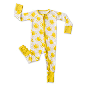 Little Sleepies Bamboo Viscose Zippy - Sunshine