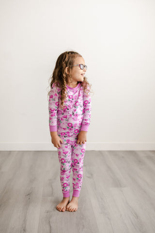 Little Sleepies Two-Piece Bamboo Viscose Pajama Set - Sweetheart Floral