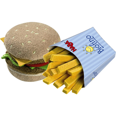 Haba Hamburger With French Fries