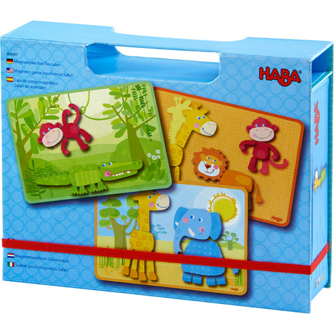 Haba Magnetic Game Box Animal Safari