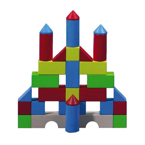 Haba Colored Building Blocks Set