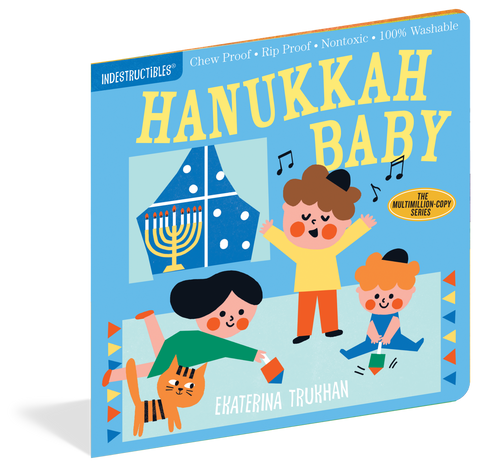 Indestructibles Book - Hanukkah Baby