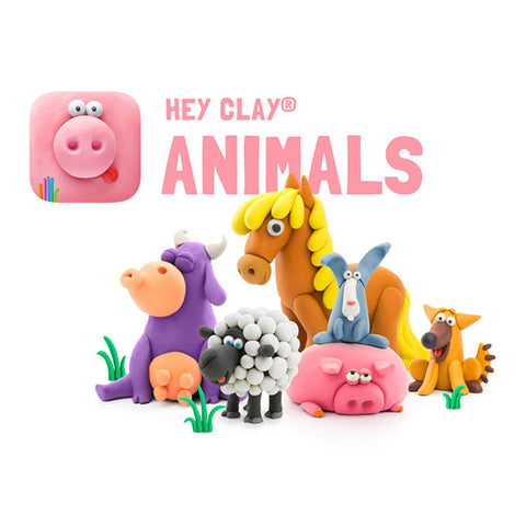 Fat Brain Toys - Hey Clay - Animals