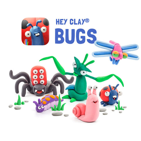 Fat Brain Toys - Hey Clay - Bugs
