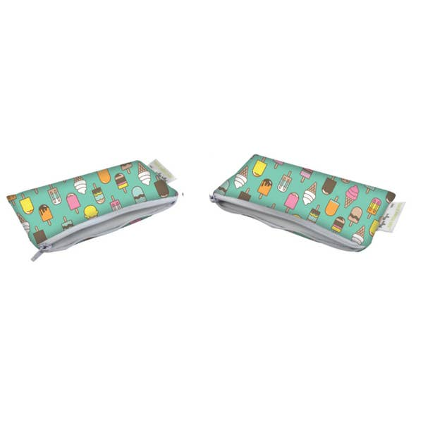 Load image into Gallery viewer, Itzy Ritzy Mini Reusable Snack Bag - 2pk