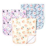 Copper Pearl Premium Burp Cloths - 3 pack