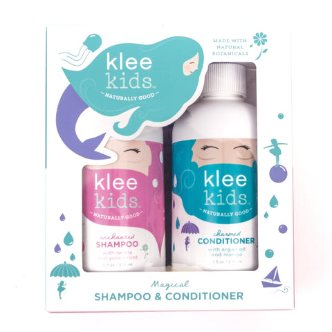 Klee Naturals Enchanted Shampoo + Charmed Conditioner Gift Set