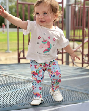 Load image into Gallery viewer, Bumblito Leggings - LARGE (2T-4T)