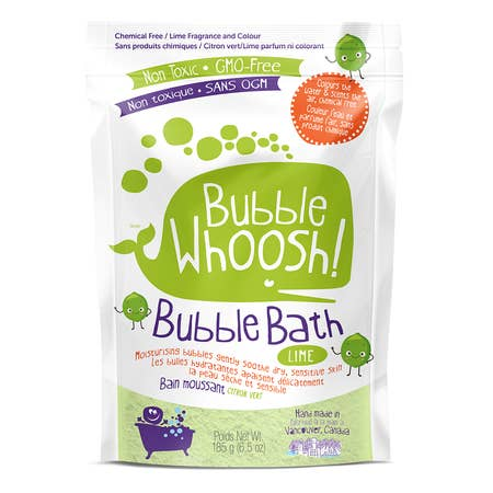 Loot Bubble Whoosh - Lime, Plum & Raspberry