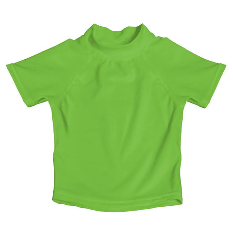My Swim Baby Lime Green Rash Guard UV Shirt - FINAL SALE