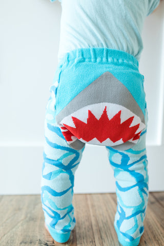 Doodle Pants Shark Cotton Leggings