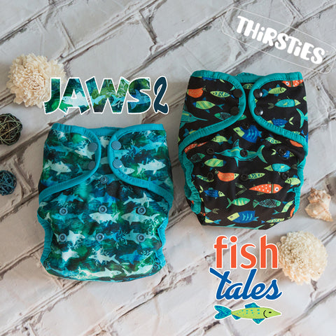 Thirsties Limited Edition Collection - Fish Tales and Jaws 2