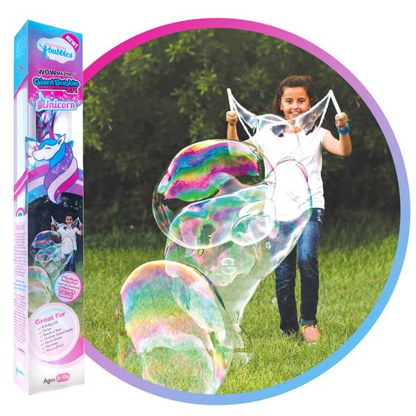 South Beach Bubbles WOWmazing Giant Bubble Kit: Unicorn Edition
