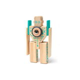 Tegu Magbot Magnetic Wooden Blocks Future Collection
