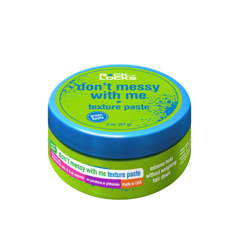Rock the Locks Texture Paste Green Apple Scent