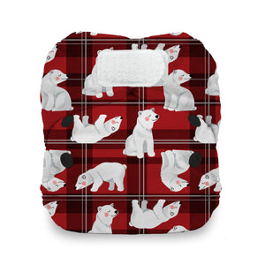 Load image into Gallery viewer, Thirsties Limited Edition - Polar Plaid