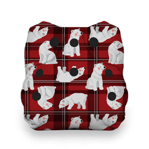Thirsties Limited Edition - Polar Plaid