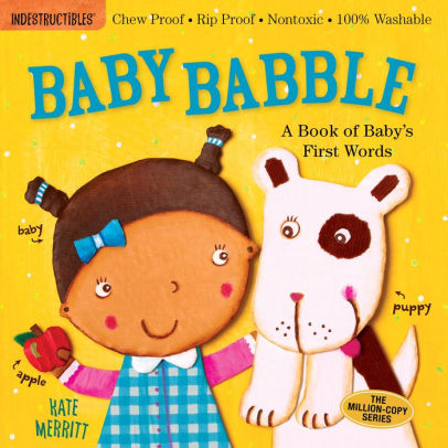 Indestructibles Book - Baby Babble