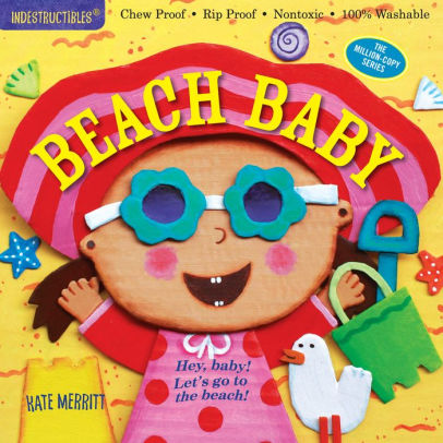 Indestructibles Book - Beach Baby