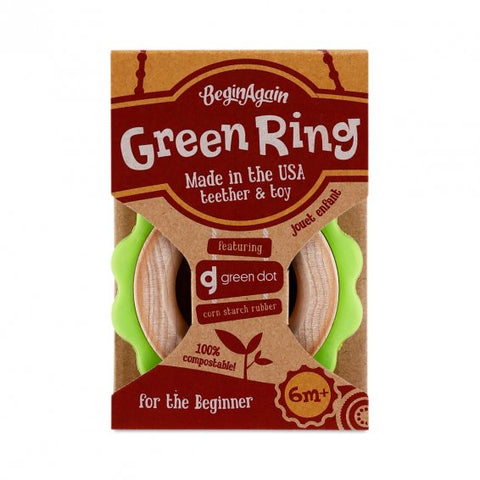 Begin Again Toys - Green Ring