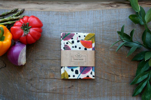 OLSEN+OLSEN Organic Beeswax Wraps pack of 3 - Leaves