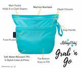 Lalabye Baby Grab n' Go Large Wet/Dry Bag