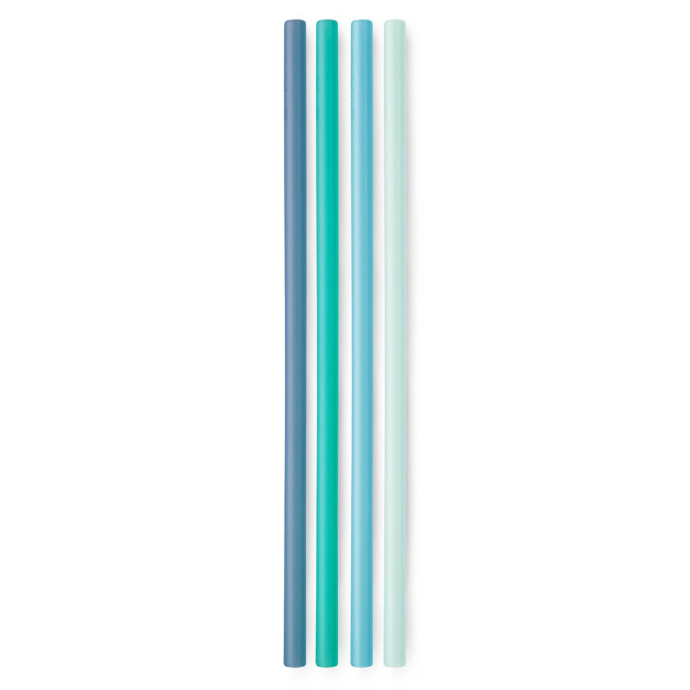 GoSili Extra Long Reusable Straw Set