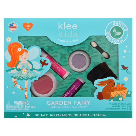 Klee Naturals Natural Mineral Play Makeup Gift Box Set - Garden Fairy