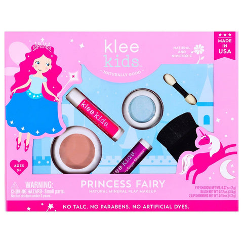 Klee Naturals Natural Mineral Play Makeup Gift Box Set - Princess Fairy