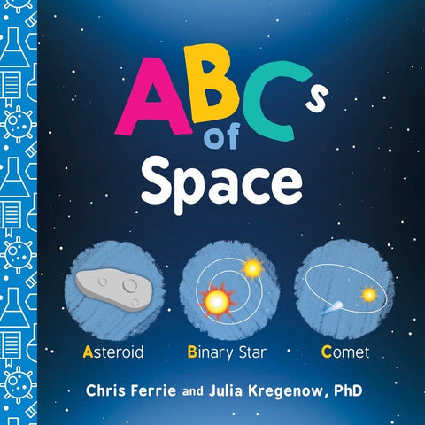 ABC's of Space (Board Book)