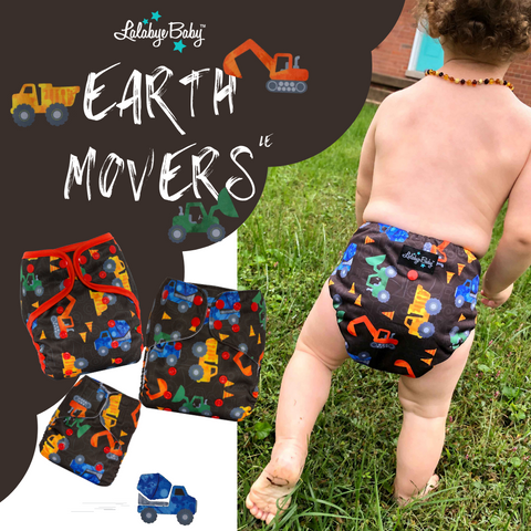 Lalabye Baby Limited Edition Release - Earth Movers & Jack Be Nimble