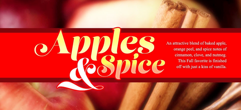 CJ's BUTTer Limited Edition Scent: Apples & Spice