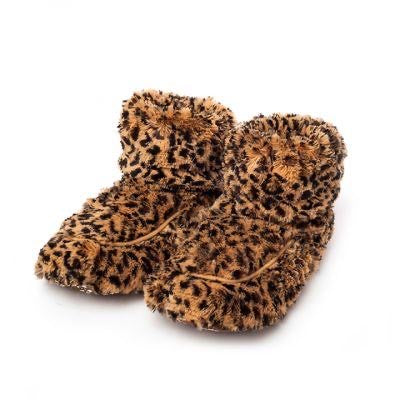 Warmies Boots - Leopard