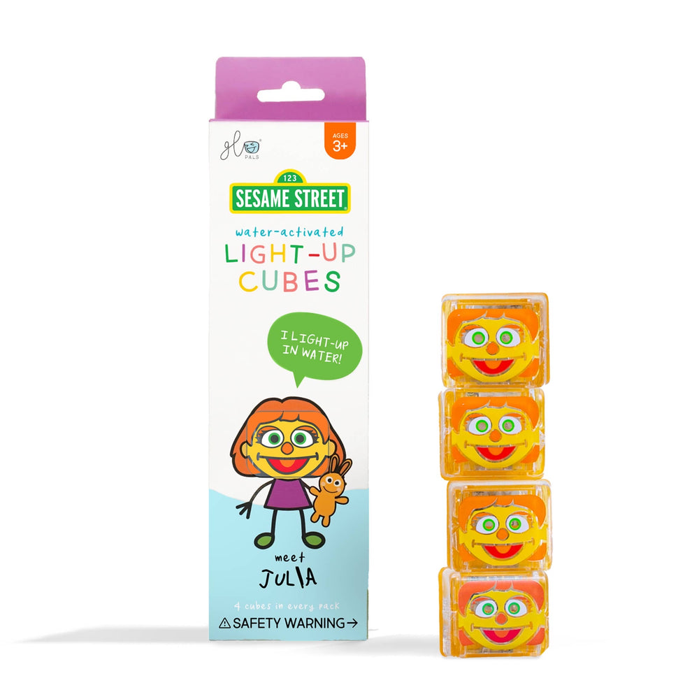 Glo Pals Limited Edition Sesame Street Light Up Cubes - Julia