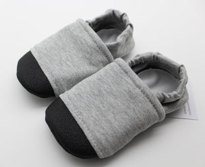 Everyday Moccasins - Heather Gray, Size 6-12