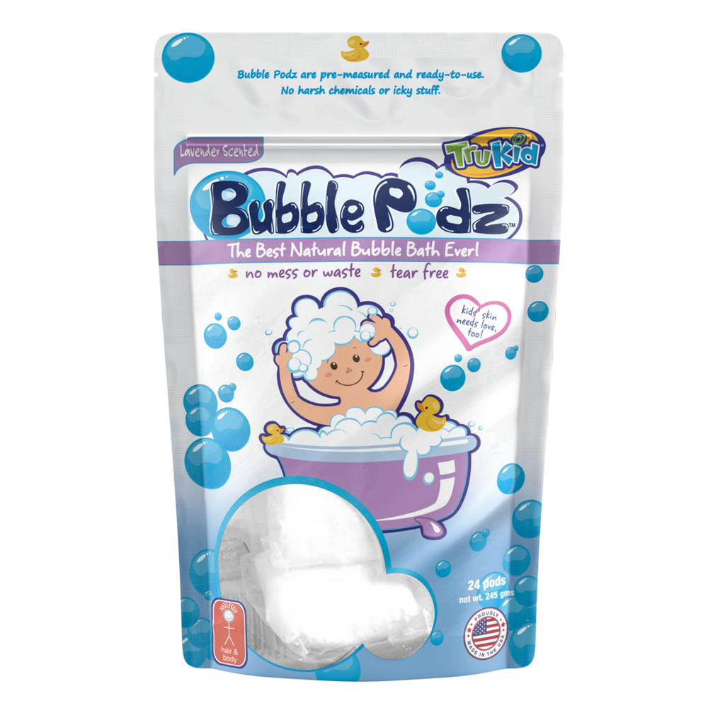 TruKid Bubble Podz - Lavender, 24 count