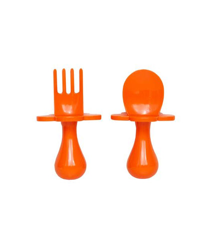 Grabease Utensil Set - Orange You Hungry