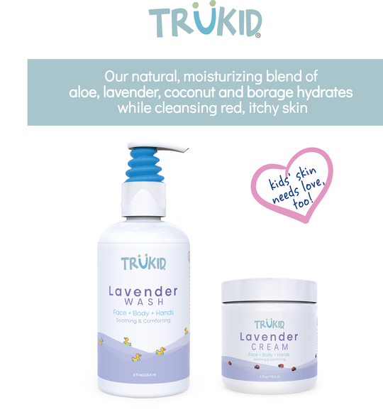 TruKid Lavender Hair & Body Wash