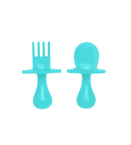 Grabease Utensil Set - Teal My Heart
